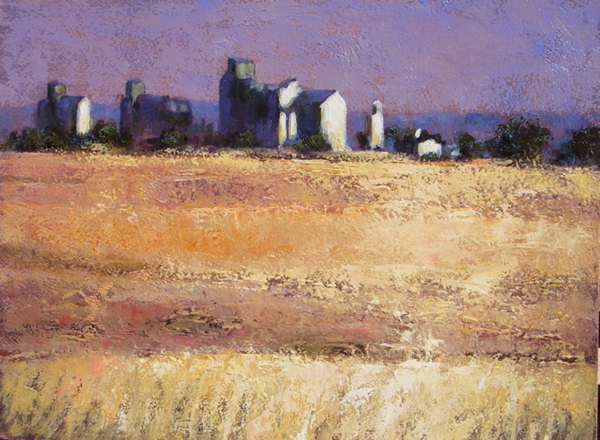 Grain Elevators - Brady, Montana (large view)