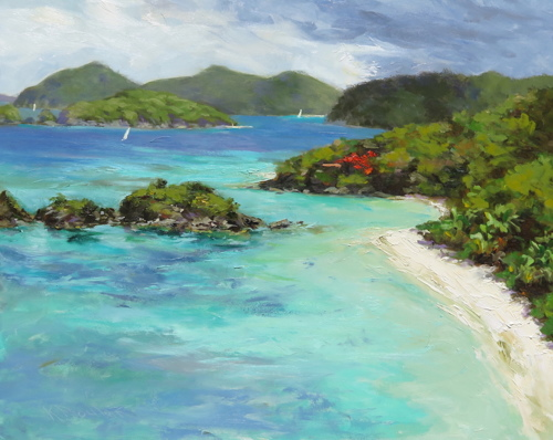 Trunk Bay, Beautiful Day (large view)