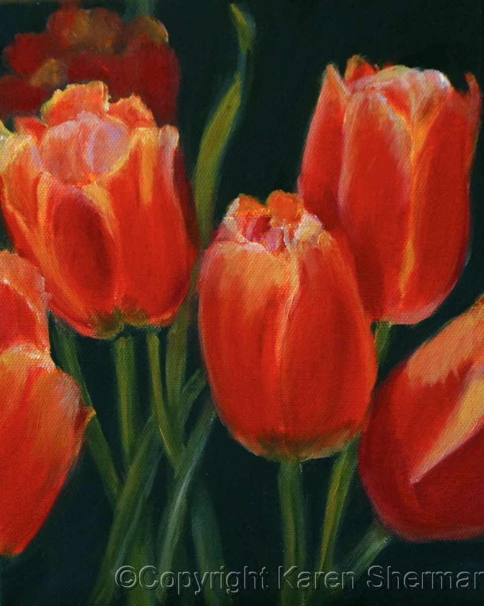 """Red Tulips"" (large view)"