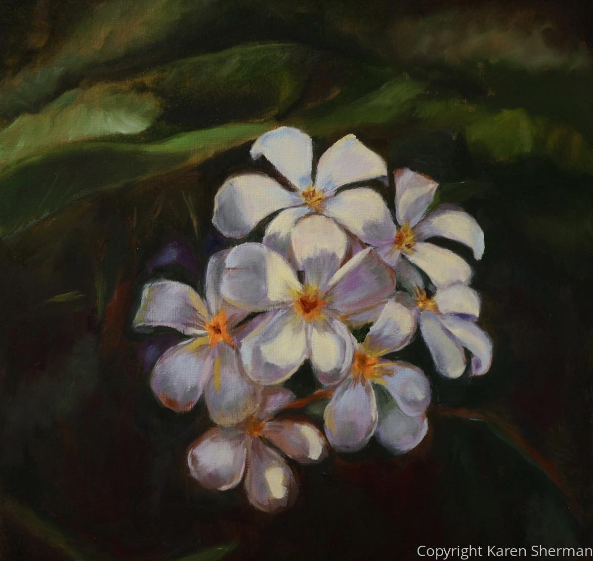 """""""Plumeria"""" (large view)"""