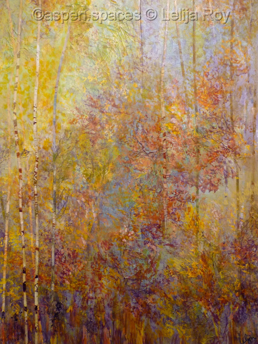 Autumn Heartbeats 40x30 © Lelija Roy (large view)