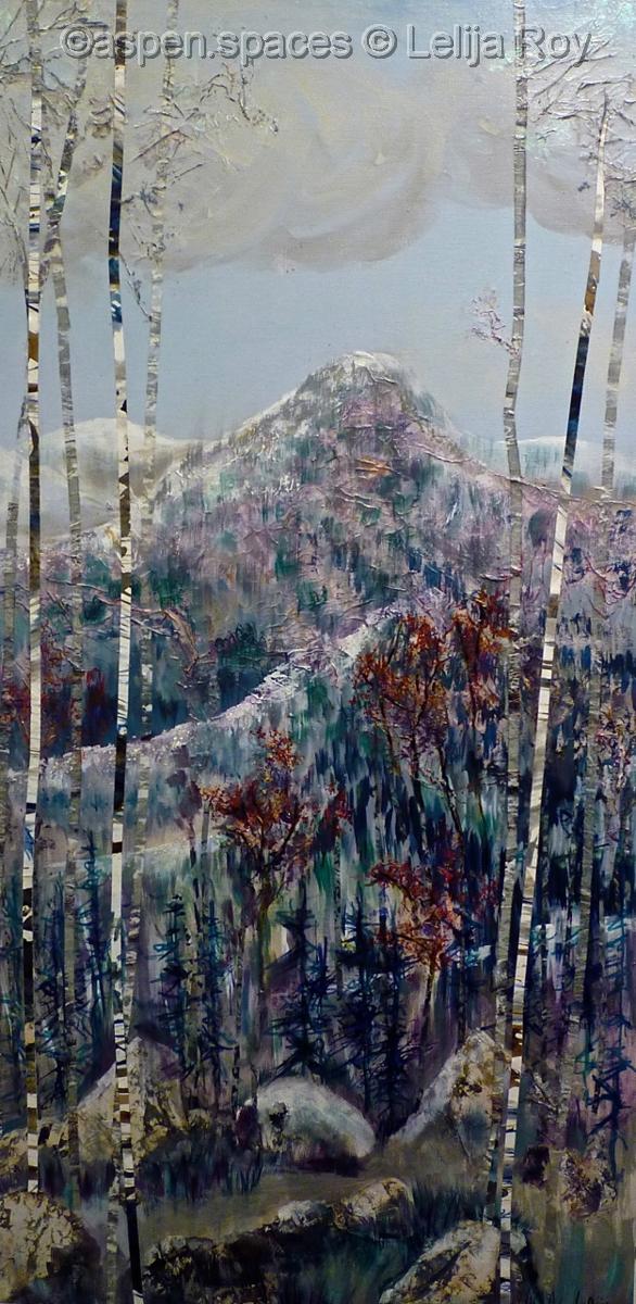 Winter Poetry 36x18 © Lelija Roy (large view)