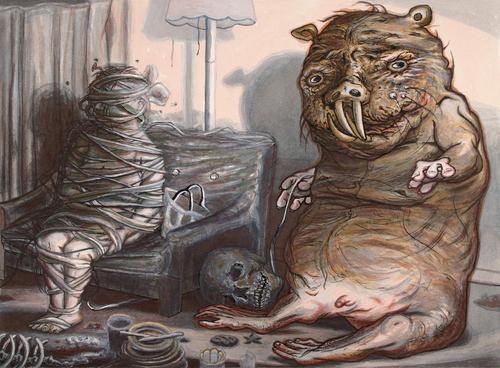Naked Mole Rat at Home