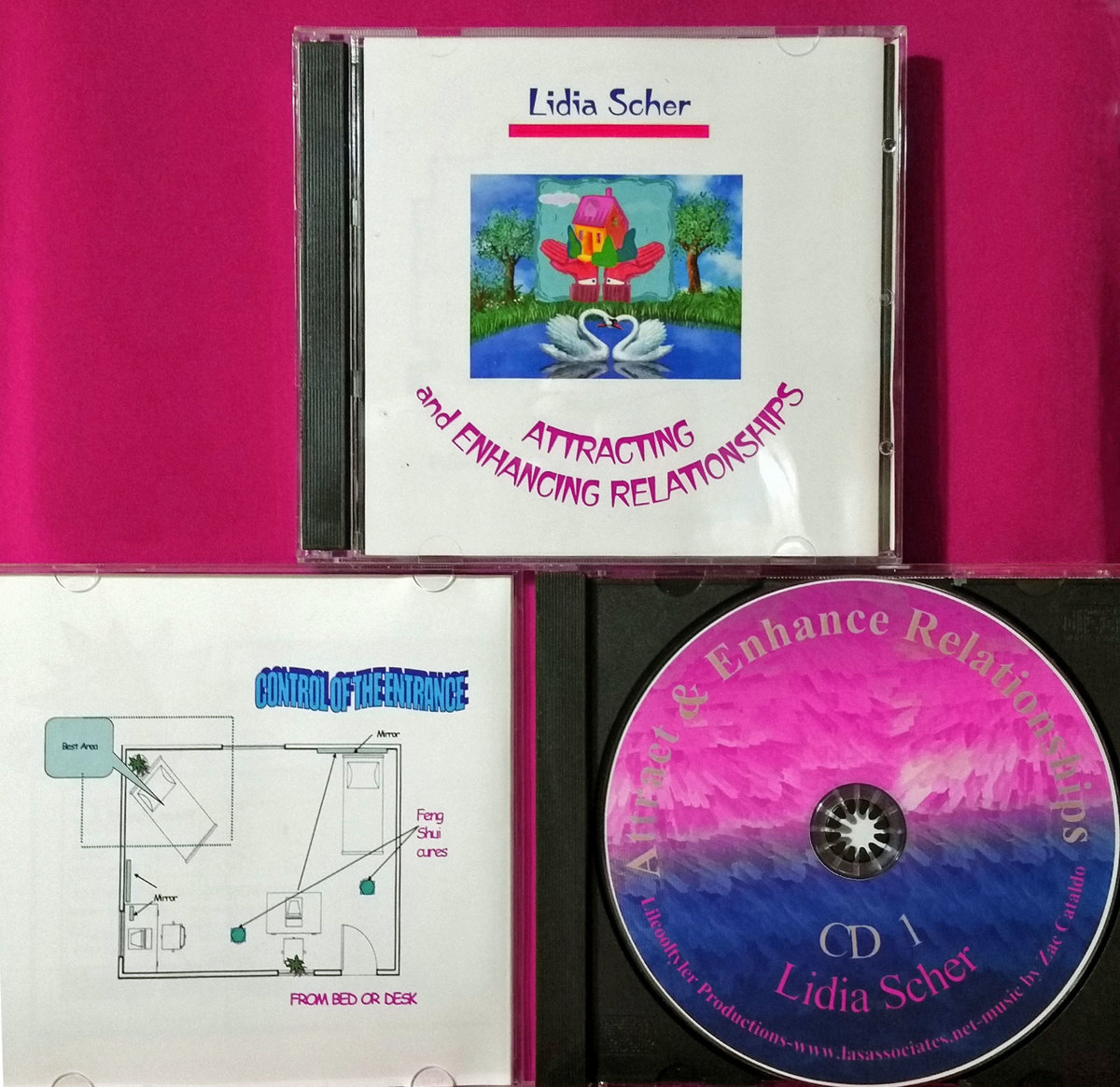 Attract & Enhance Relationships CD Set & Booklet (large view)