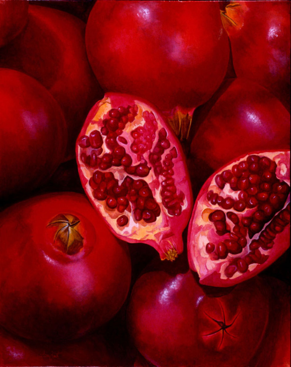 Pomegranates (large view)