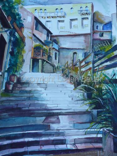 STEPS IN CARRARA-ITALY (large view)