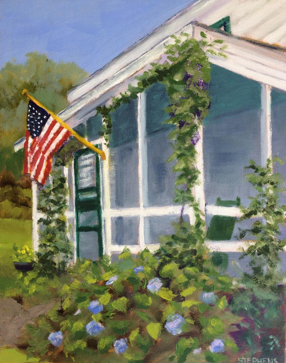 Patriotic Porch (large view)