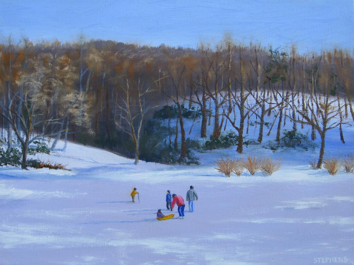 Pandapas Pond, Winter (large view)