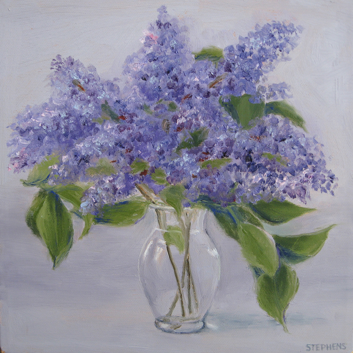 Vase of Lilacs (large view)
