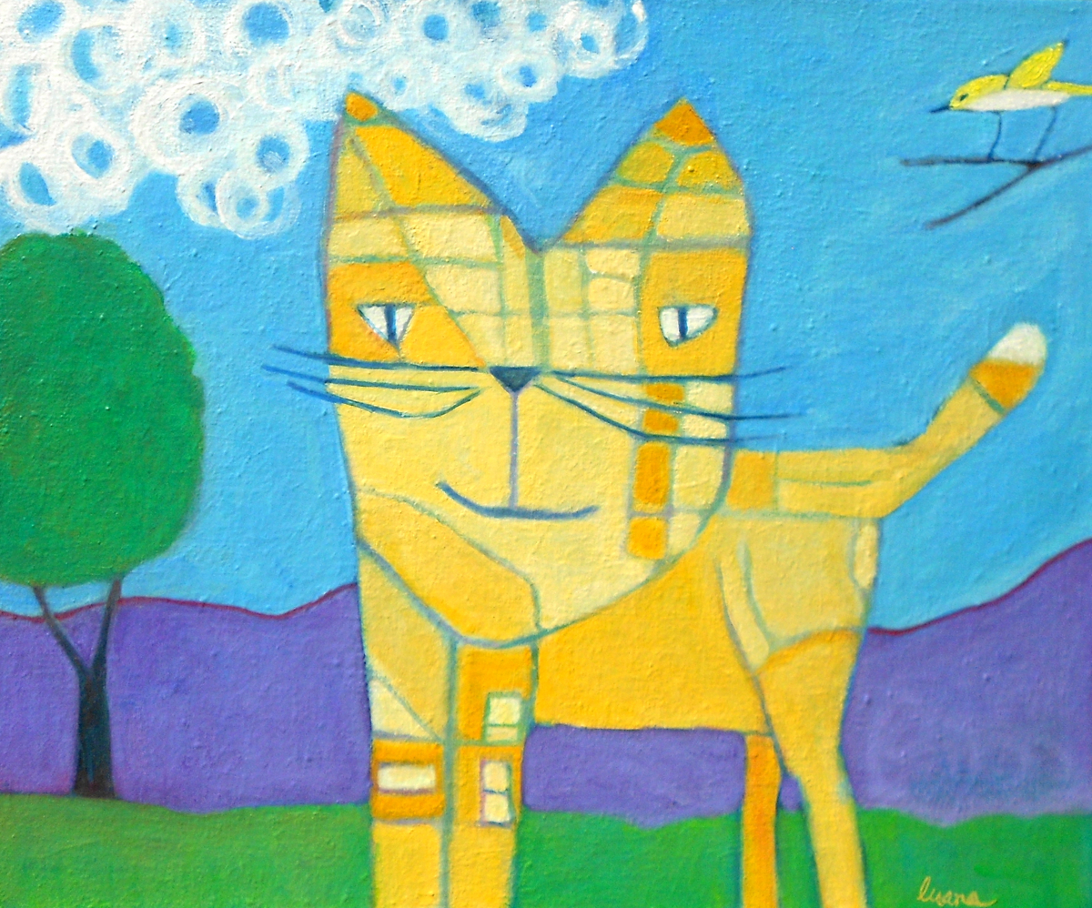 Plaid Cat (large view)