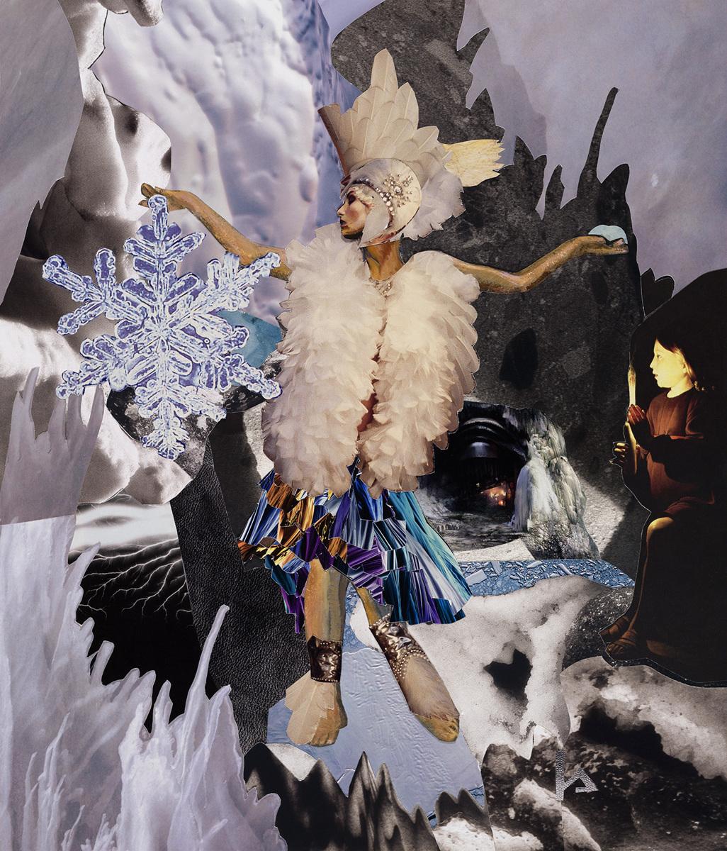 "Frau Holle, Midwinter Goddess"" (large view)"
