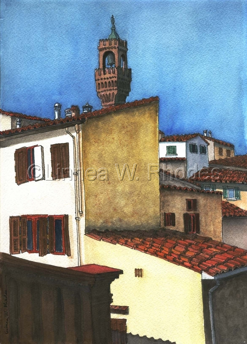Florence Rooftops (large view)