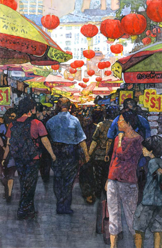 Chinese Market, Singapore (large view)
