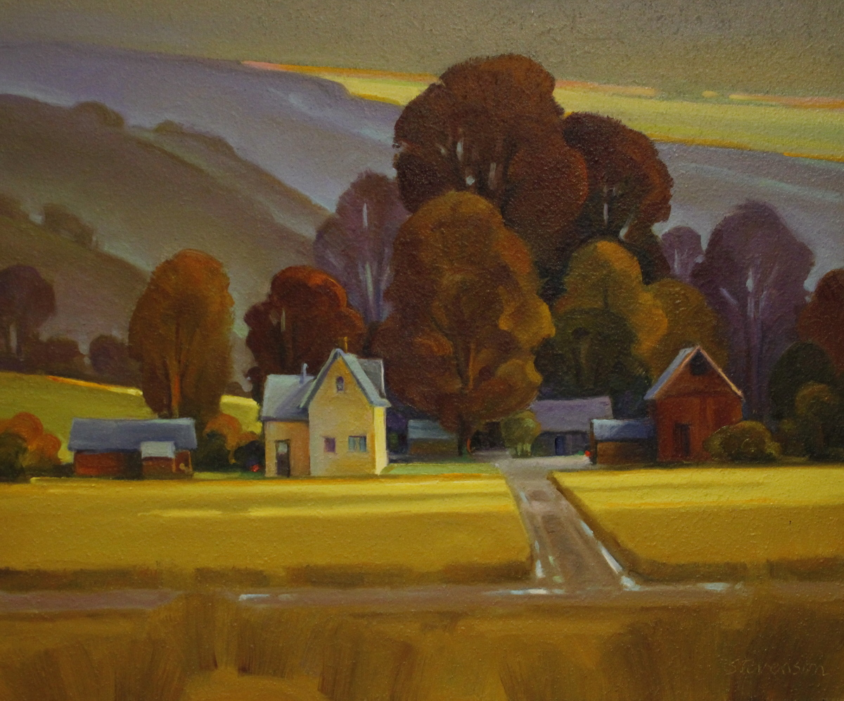 Yellow House, Amber Fields (large view)