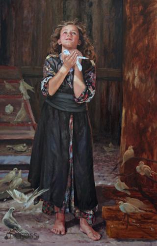 Noah's Daughter-in-law in the Dovecote