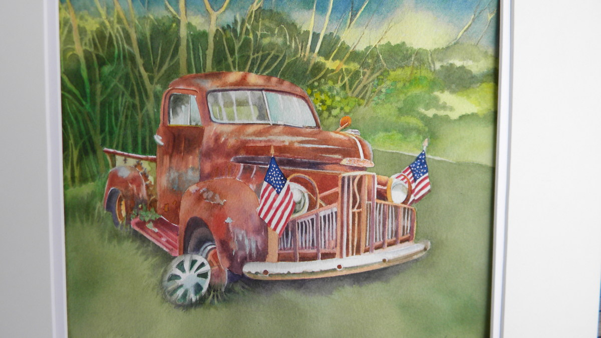 A Studebaker Celebrates the Fourth (large view)