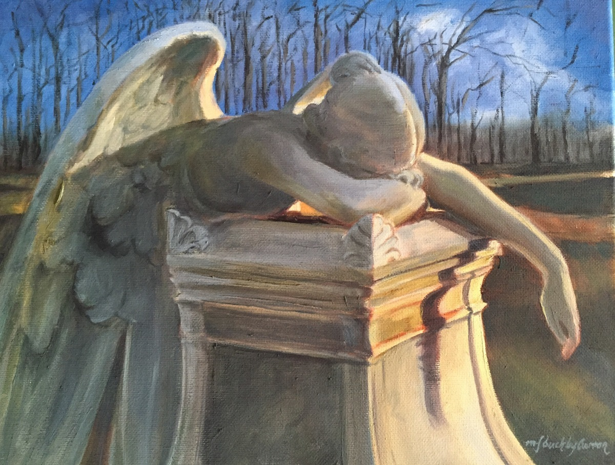 Angel of Grief (large view)