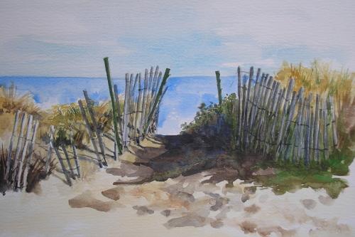 Beach Walk Through (large view)