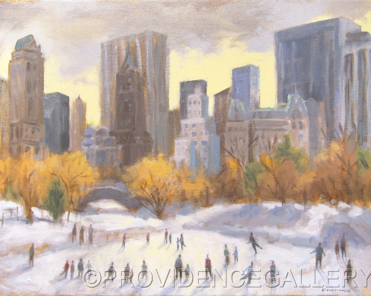 Wolman Rink in Central Park (large view)
