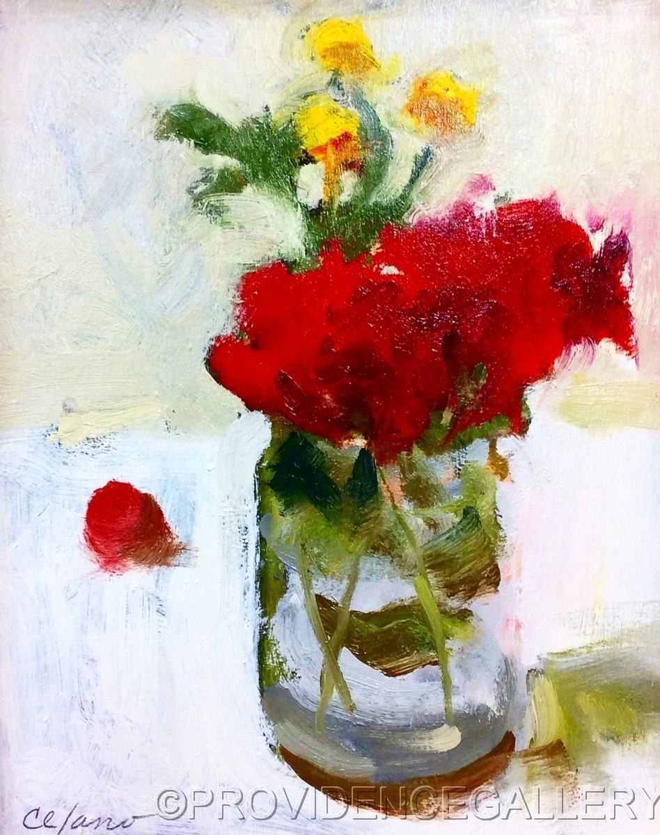 Small Bouquet of Roses (large view)
