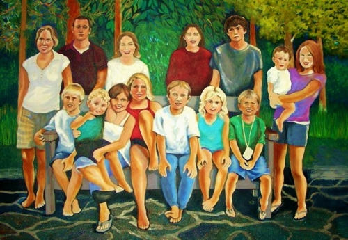 14 nieces and nephews (large view)