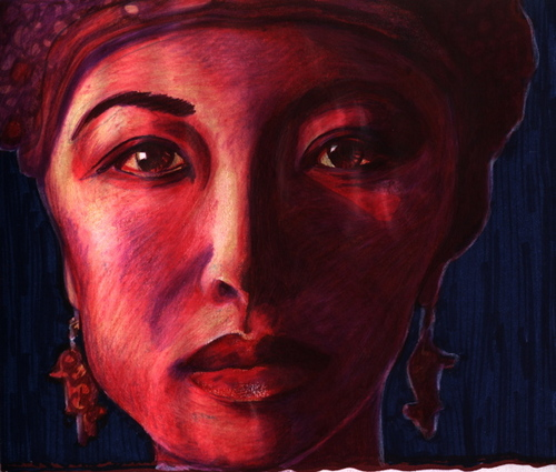 Woman from Bali (large view)