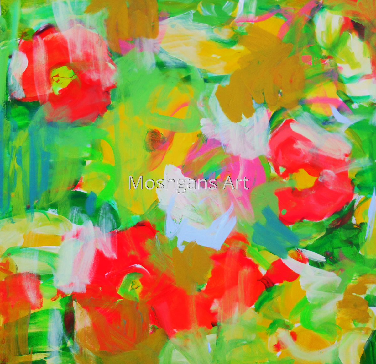 Abstract Poppies (large view)
