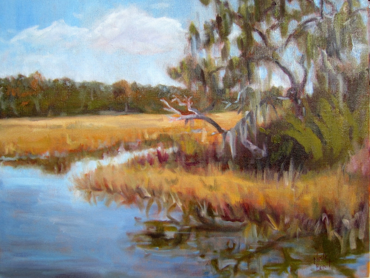 November Afternoon on Edisto (large view)