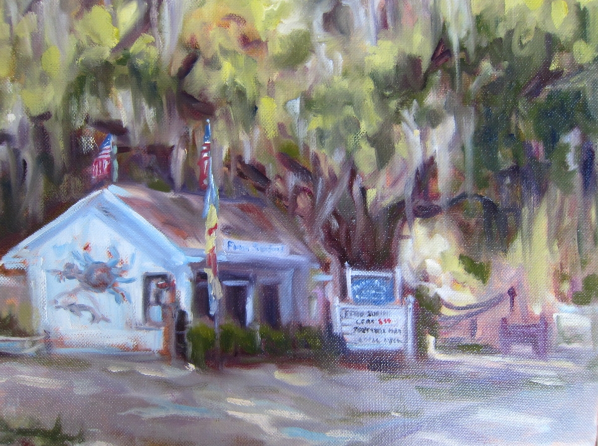 Flower's Seafood on Edisto (large view)