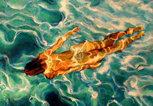 Swimmer #20 (large view)
