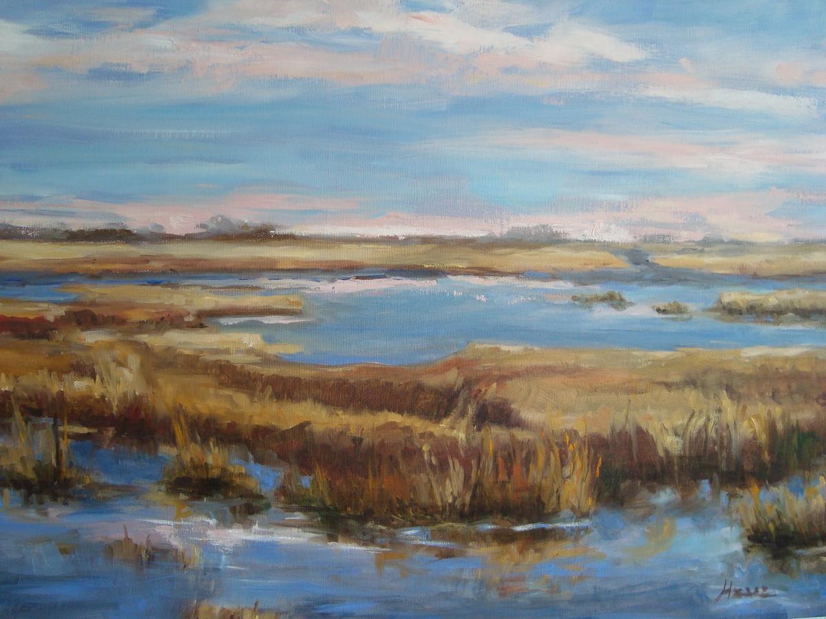 Soft Skies, Marsh Overlook (large view)