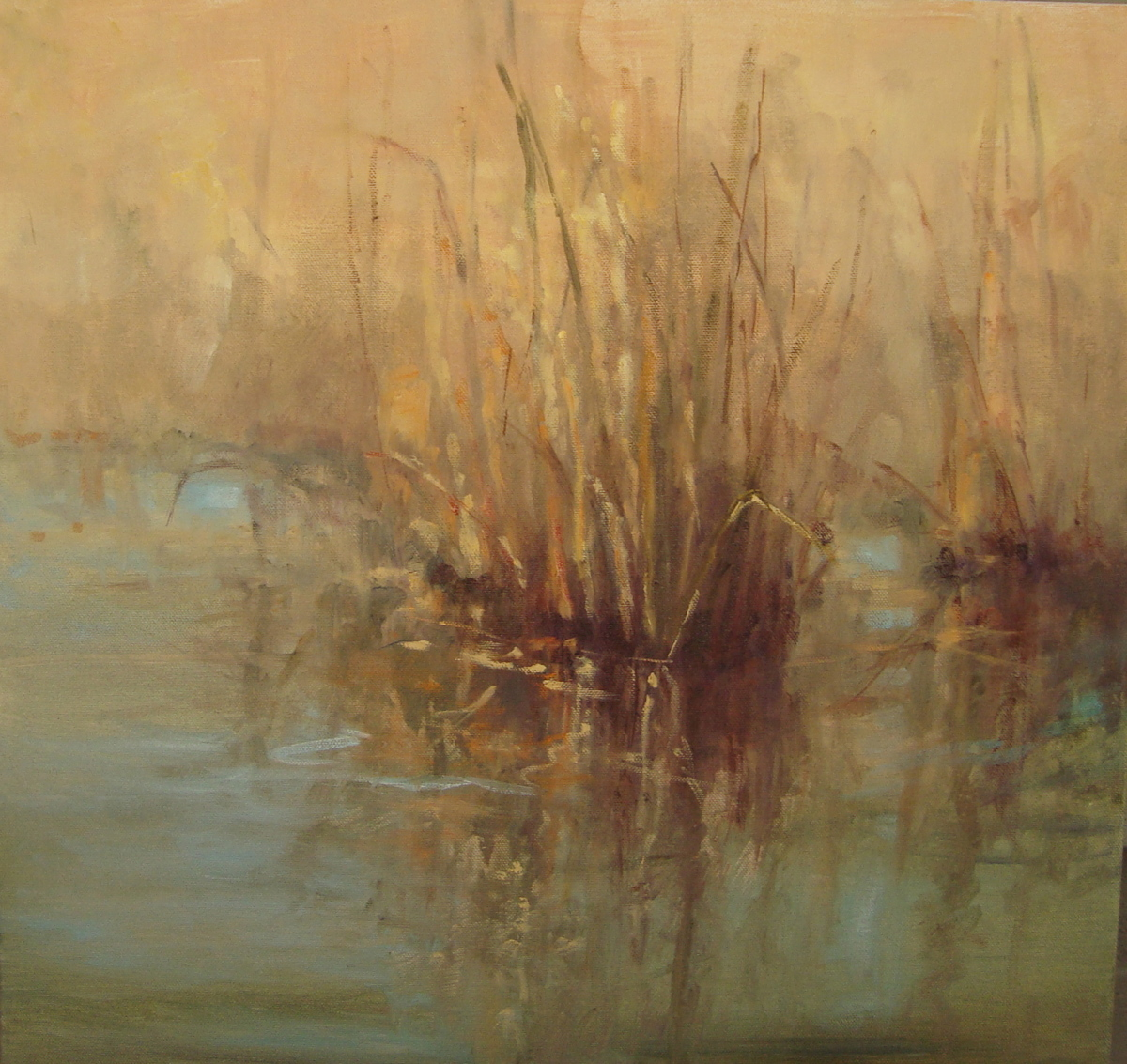 Reeds in the Mist (large view)