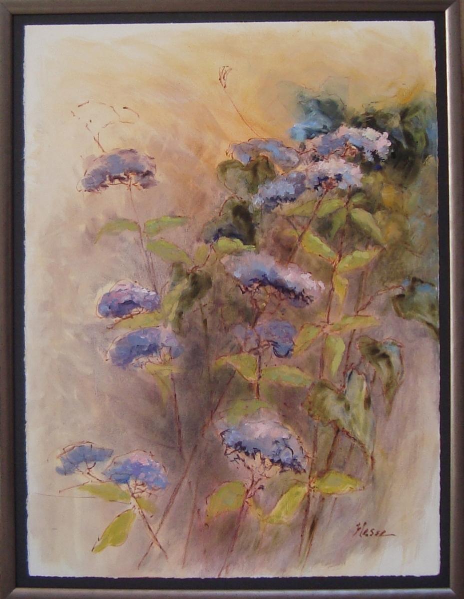 Blue Ageratum I (large view)