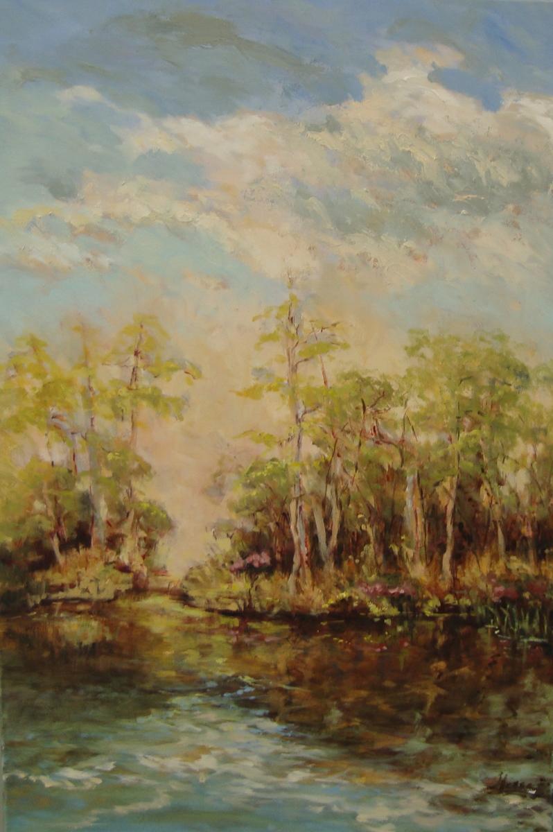 Spring Pond Impression (large view)