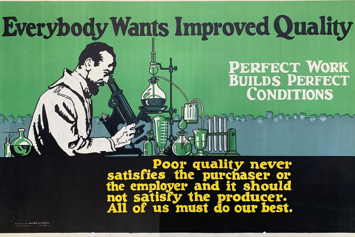 Everybody Wants Improved Quality (large view)