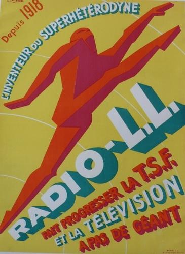 Radio L.L., Radio, Product, products, c.1940, Depres, Favre, Depres Favre (large view)