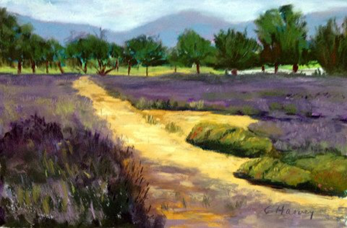 """Cathy Harvey - """"Los Olivos Promise"""" - Honorable Mention (large view)"""