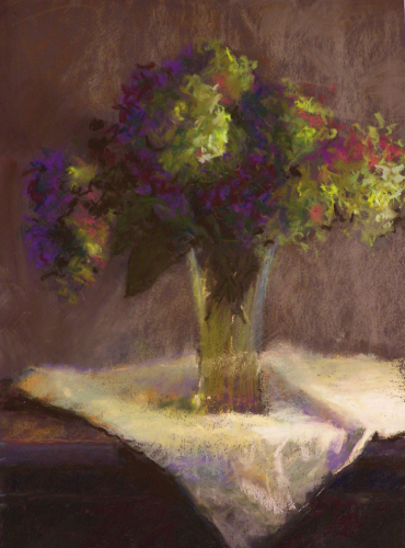 "Dana Abel - ""Hydrangeas"" - Merit Award (large view)"
