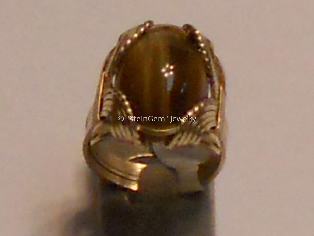 Tigereye Ring  (large view)