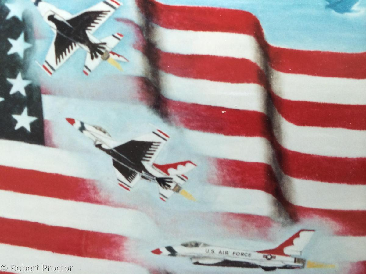 U. S. Airforce Thunderbirds (large view)