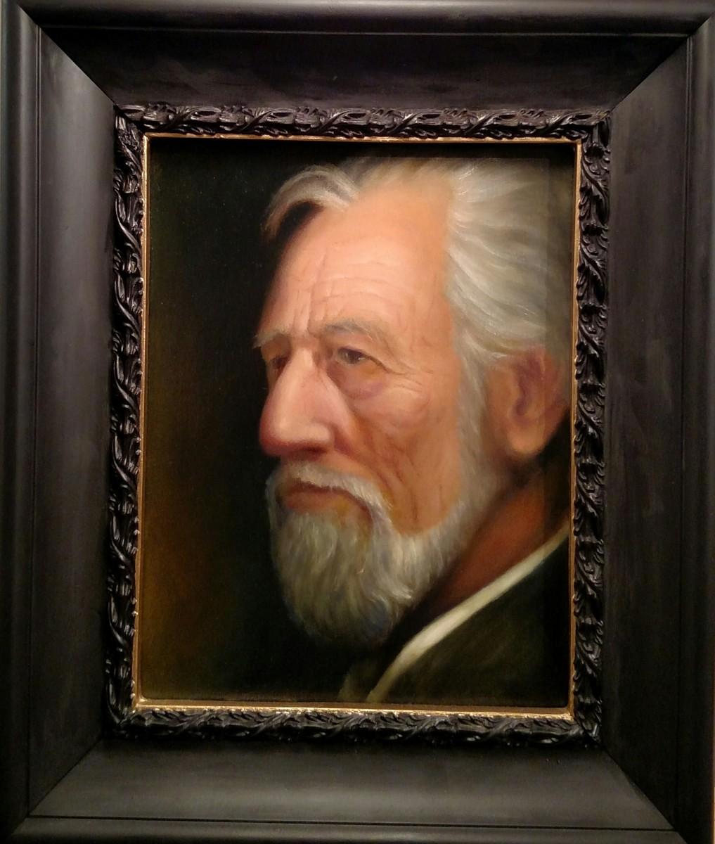 Portrait of my Friend Daniel, the Painter (large view)