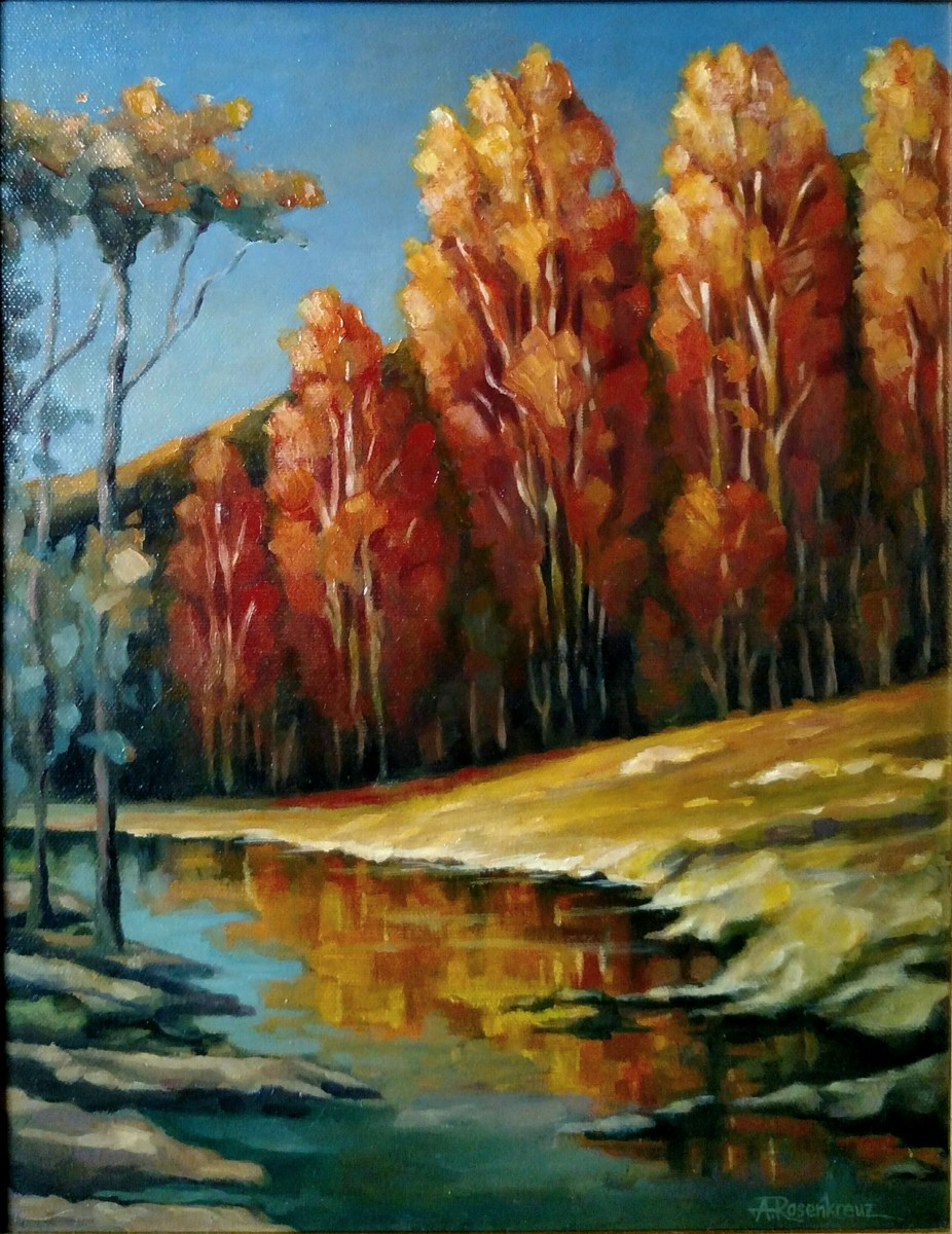 Autumn Afternoon by the Creek (large view)