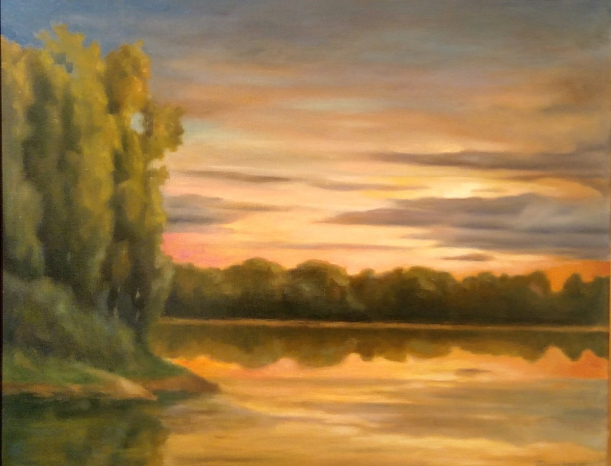 """Susquehanna Sunrise (large view)"