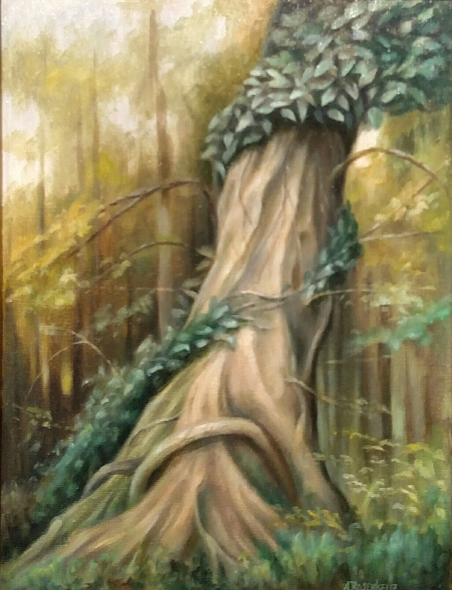 """""""The Old Vine Tree,Indian Steps Museum""""  (large view)"""