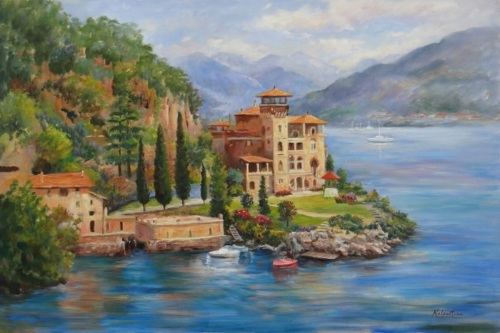 Lake Como Peace (large view)