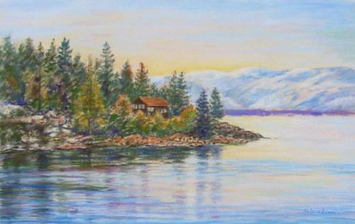 Lake Tahoe Morning (large view)