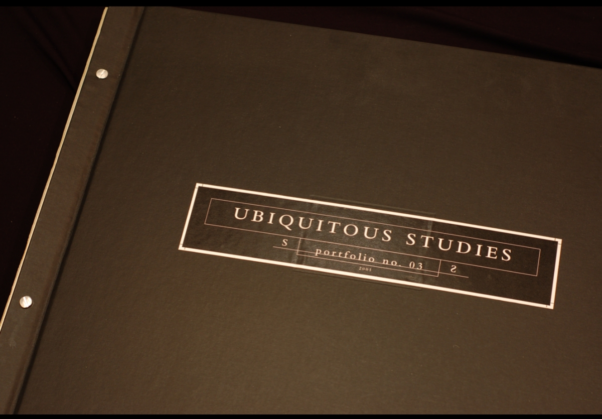 Ubiquitious Studies - Bound Folio Set (large view)