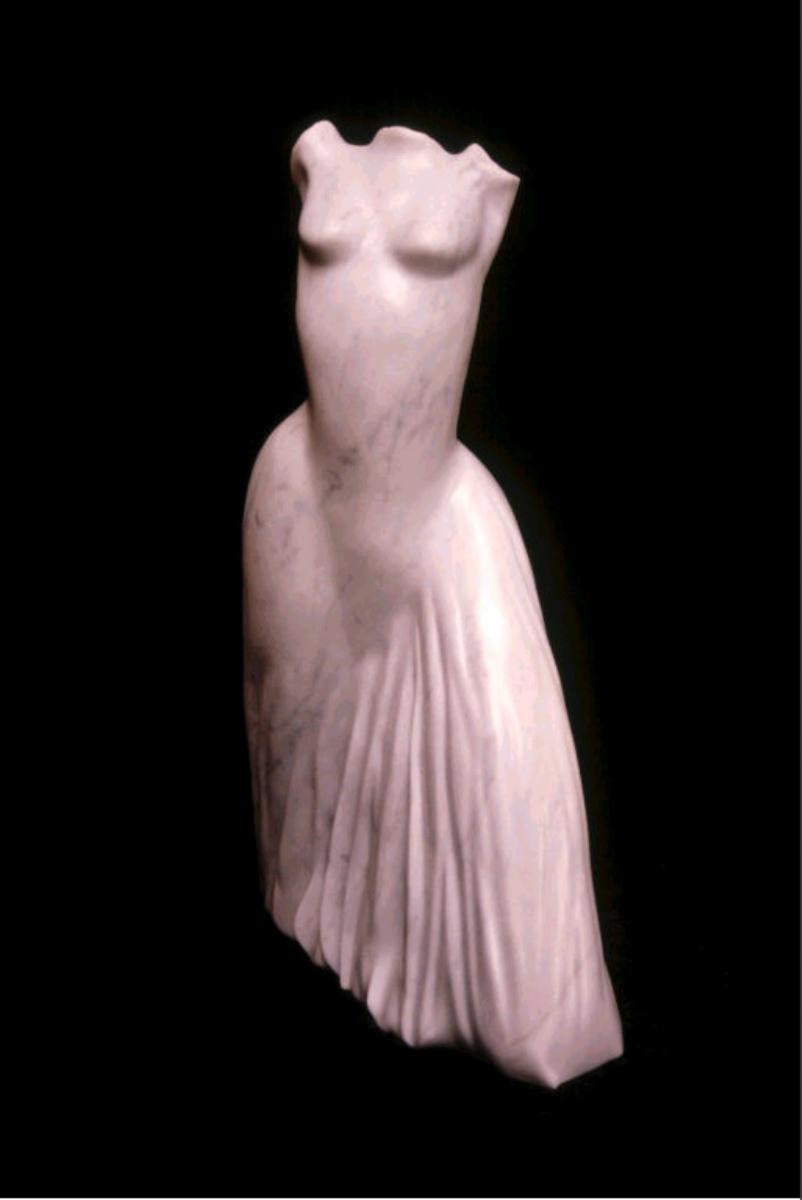 Carrara Marble Table Top Sculpture (large view)