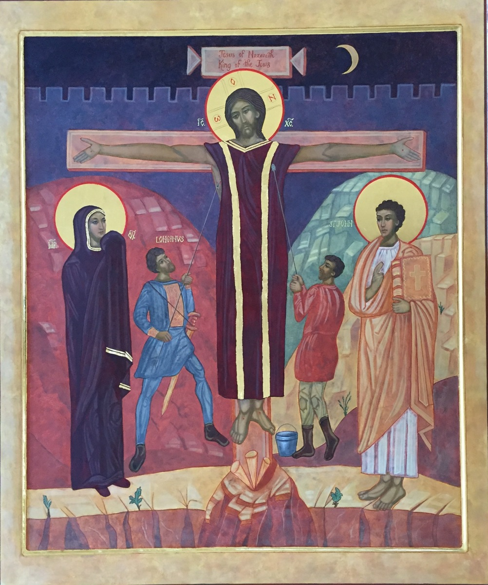 Crucifixion Icon (large view)