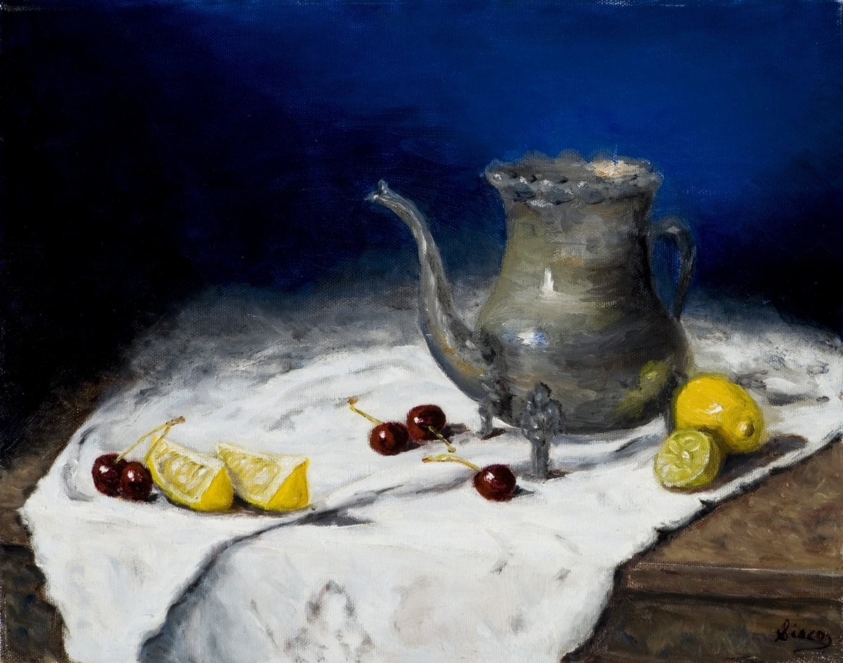 Still Life with Cherries (large view)